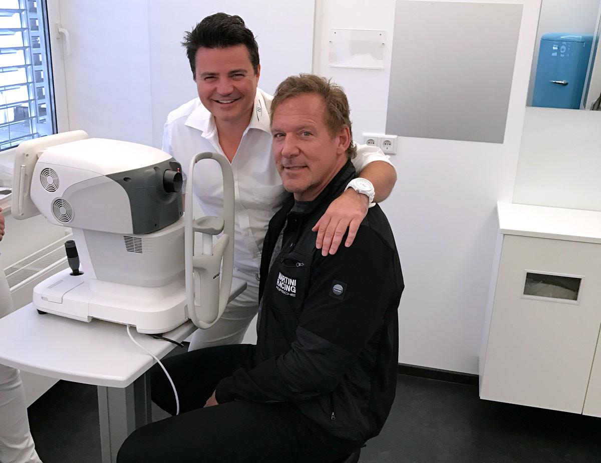 GLADIATOR Ralf Möller konsultiert die Augenlaserklinik